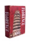 FLORENCE dekoratívna kniha výška 26 cm