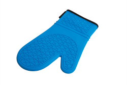 SILIKÓNOVÁ rukavica modrá