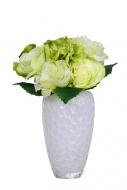RUŽE kytica bielo - zelená