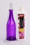 ZÁVESNÁ fľaša fialová