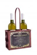 KOVOVÝ držiak na fľaše vínový