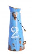 RETRO váza modrá