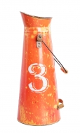 RETRO váza oranžová