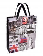 DARČEKOVÁ  taška s motívom Londýna veľkosť M