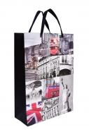 DARČEKOVÁ taška s motívom Londýna veľkosť L