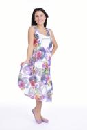 AGATE šaty white multicolor