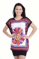ALISON tričko multicolor flower