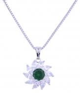 KVET prívesok vo farbe smaragdu