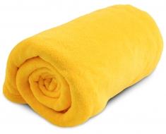 LAGOON prikrývka žltá