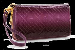 DÁMSKA peňaženka fialová