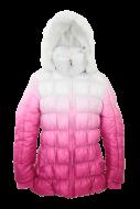LAURA bunda ružovo - biela