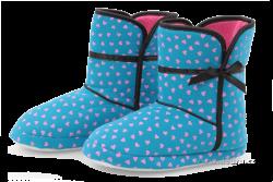 VALI domáce papuče tyrkysové