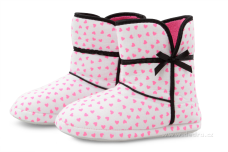 VALI domáce papuče biele