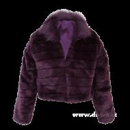 MOSELLE kabátik fialový