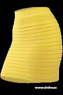 MARIANNE top / minisukňa žltá