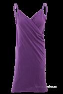PAREONCCINI šaty čierne fialové