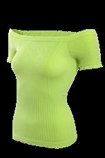 YVETTE top s rukávmi zelený