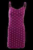 SALEENA mini šaty levanduľové