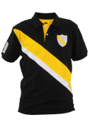 PIQUÉ POLO čierno - žlté