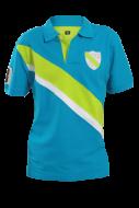 PIQUÉ POLO modro - zelené