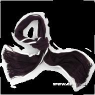 PLETENÝ šál tmavo - fialový