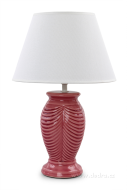 NATURE lampa ružovo - fialová