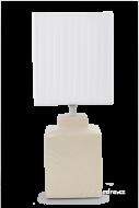 CUBE lampa krémová