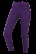 NADIA long elastické nohavice purpurové