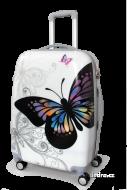 WHITE butterfly cestovný kufor