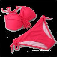BECKY plavky neónovo - ružové