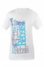 REBELS pánske tričko biele