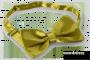 SATÉNOVÝ motýlik olivový
