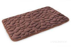 ANATOMIXX kúpeľňová predložka čokoládová