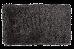 LONGHAIR koberec šedo - čierny 200 x 300 cm