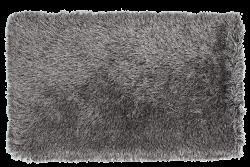 LONGHAIR koberec strieborno - čierny 80 x 150 cm