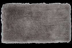 LONGHAIR koberec strieborný 80 x 150 cm
