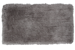 LONGHAIR koberec strieborný 200 x 300 cm