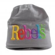 3D REBELS čiapka obvod 56 cm šedá