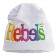 3D REBELS čiapka obvod 50 cm biela