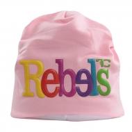 3D REBELS čiapka obvod 50 cm ružová