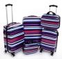 STRIPES cestovný kufor malý