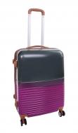 GRAY PURPLE cestovný kufor malý