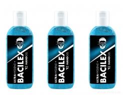 BACILEX ULTRAHYGIENE+ čistiaci gél na ruky platinum future men sada