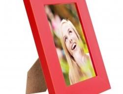 RÁMIK na fotku 9 x 13 cm červený