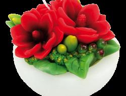 MAGNÓLIA dekoratívna sviečka