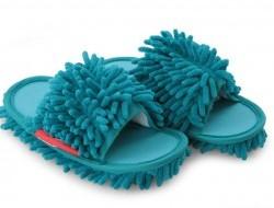 UPRATOVACIE papuče pre deti veľkosť 31 - 35 tyrkysové