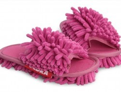 UPRATOVACIE papuče pre deti veľkosť 31 - 35 ružové