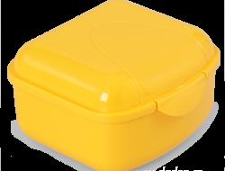 BOX na desiatu žltý