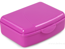 BOX na desiatu fialový