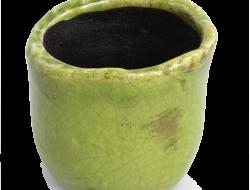 KVETINÁČ zelený výška 10 cm